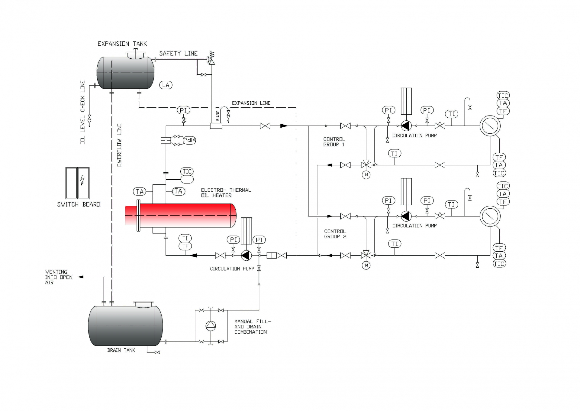 Electro Fluid Heater Gesab Gteborg Energy Systems Ab Process Flow Diagram Images Engineering With Flu