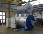 Heater skid with economiser 2